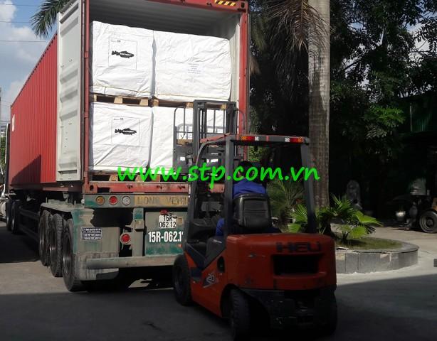 Đóng hàng lên container